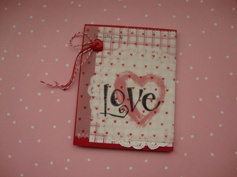 Valentine Love Letter 2012